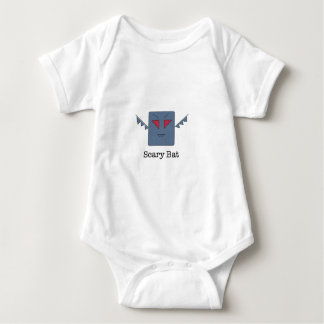 Scary Bat_monsters.011 Baby Bodysuit