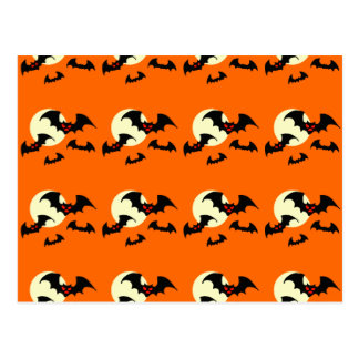 Scary Bats Postcard