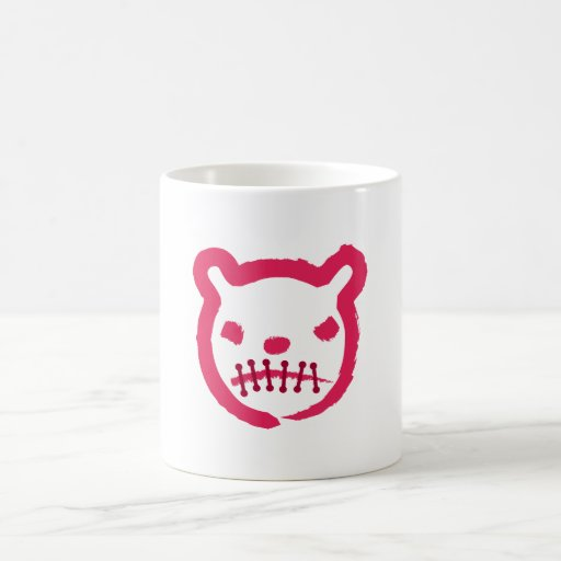 scary-Bear Classic White Coffee Mug