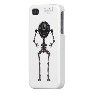 Scary Beard logo 2 iPhone 4 Cases