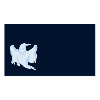 Scary Blue Ghost Double-Sided Standard Business Cards (Pack Of 100)