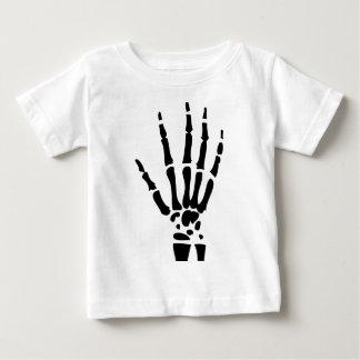 scary bone hand halloween shirts
