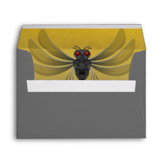Scary Bug Halloween Party Envelope