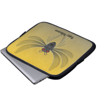 Scary Bug Halloween Template Laptop Computer Sleeves