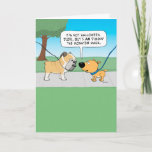 """Scary Bulldog Face Birthday Card<br><div class=""""desc"""">This funny birthday card features a dog commenting on the appearance of a bulldog,  who has a face that might be scary to some but is surely lovable to others. © 2015 Chuck Ingwersen</div>"""