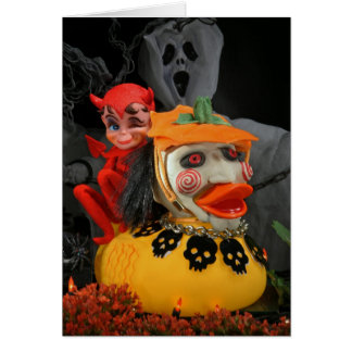 Scary, but Cute! Greeting Card