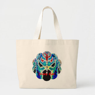 Scary Cat Canvas Bag