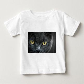 Scary Cat Eyes Baby T-Shirt
