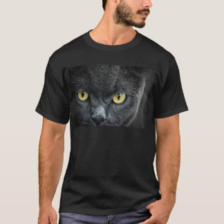Scary Cat Eyes T-Shirt