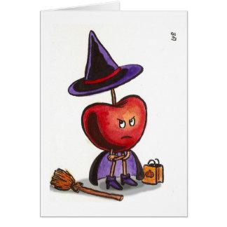 Scary Cherry Card