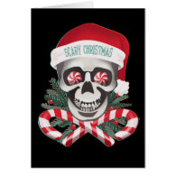 Scary Christmas Cards