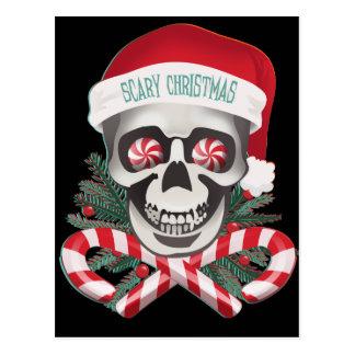 Scary Christmas Postcard