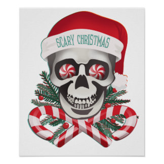 Scary Christmas Poster