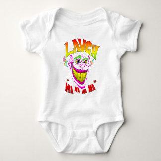Scary Clown Laugh Baby Bodysuit