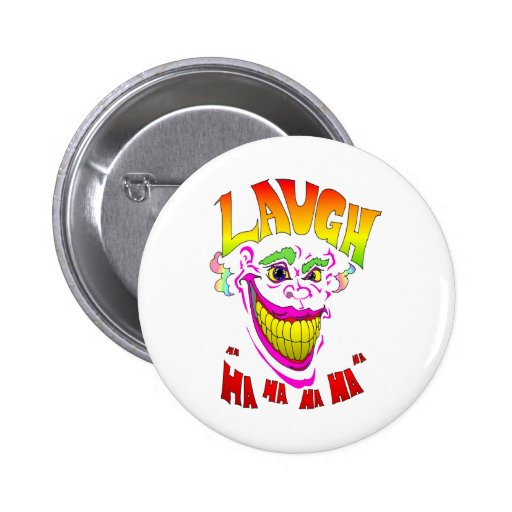 Scary Clown Laugh Button