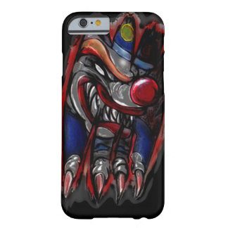 Scary Clown Monster Ripping (iPhone6) Barely There iPhone 6 Case