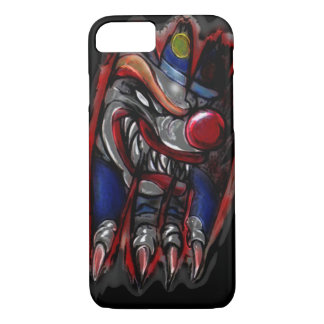Scary Clown Monster Ripping (iPhone 7) iPhone 8/7 Case