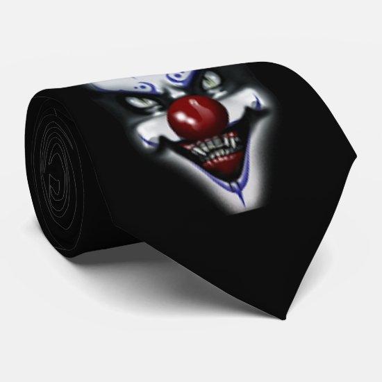 Scary Clown Tie