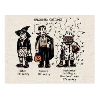 Scary Costume Postcard