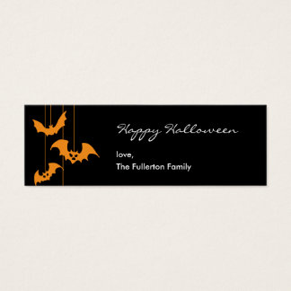 Scary Creatures Halloween Gift Tag