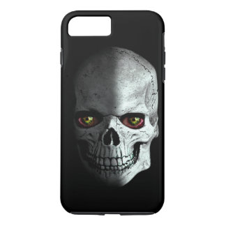 Scary, creepy, zombie skull with bloody eyes… iPhone 8 plus/7 plus case