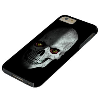 Scary, creepy, zombie skull with bloody eyes… tough iPhone 6 plus case