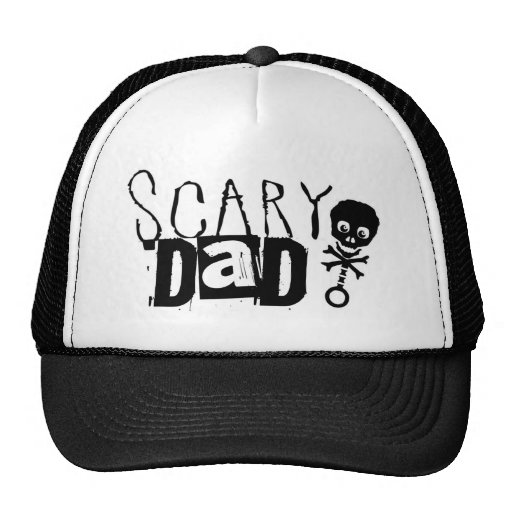 Scary Dad Trucker Hat