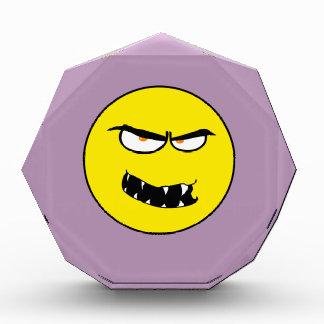 Scary Evil Smiley Face Award