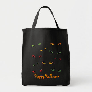 Scary Eyes Multi-Colored Bag