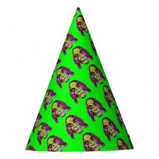 scary fiendish horror monster portrait party hat