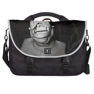 Scary, freaky, faceless body...or is it? laptop computer bag