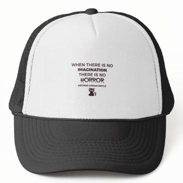 Halloween Themed Scary Frightening Horror Halloween Design Trucker Hat