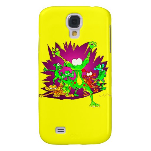 SCARY FROGS SAMSUNG GALAXY S4 COVERS