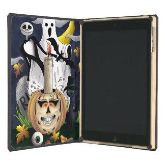 Scary Fun Halloween Creatures iPad Air Cover