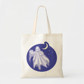 Scary Ghost Tote Bag