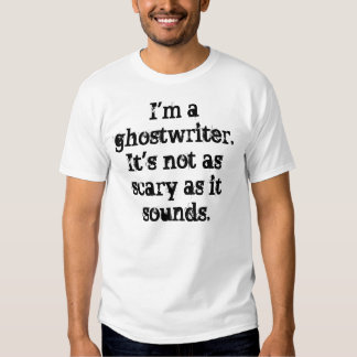 Scary Ghostwriter T-Shirt