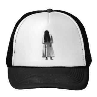 Scary Girl Trucker Hat