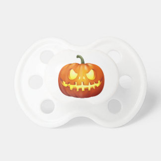 Scary Glowing Jack-o-Lantern Pumpkin Carving BooginHead Pacifier