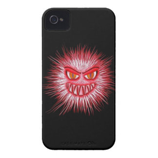Scary Gory Ghoulish Halloween Illustration iPhone 4 Case