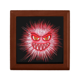 Scary Gory Ghoulish Halloween Illustration Jewelry Box