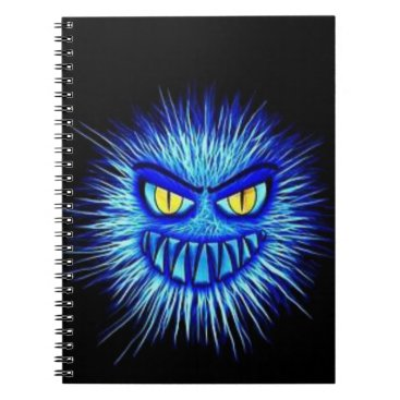 Halloween Themed Scary Gory Ghoulish Halloween Illustration Notebook