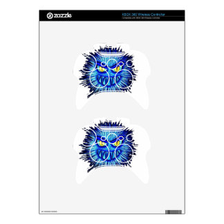Scary Gory Ghoulish Halloween Illustration Xbox 360 Controller Skins