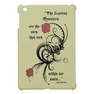 Scary Gothic Edgar Allen Poe Quote iPad Case iPad Mini Cases