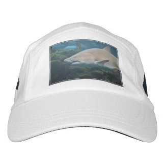 Scary Great White Shark Headsweats Hat