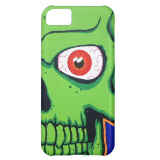 Scary Green Skull iPhone 5 Case