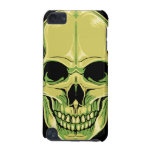 Scary Grinning Green Skull iPod Touch (5th Generation) Case