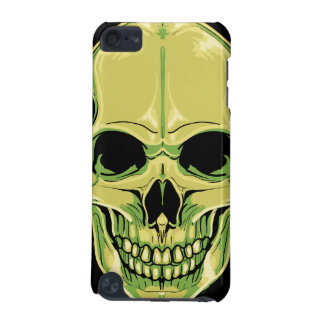 Scary Grinning Green Skull iPod Touch 5G Cover