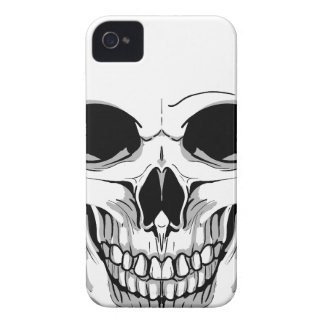Scary Grinning Skull Case-Mate iPhone 4 Case