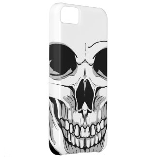 Scary Grinning Skull Case For iPhone 5C