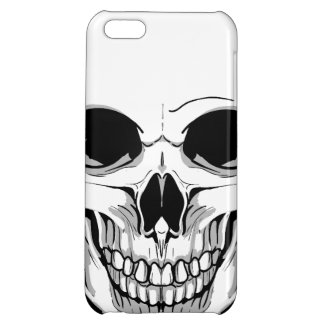 Scary Grinning Skull iPhone 5C Cases